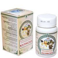 Продукт кисломолочный сухой «КуЭМсил», таблетки, 60 шт